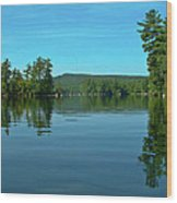 Range Pond 0050 Wood Print