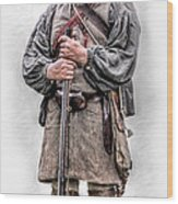 Ranger Bushy Run 250th  Wood Print