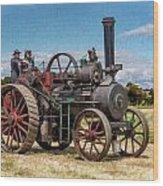 Ransomes Steam Engine Wood Print