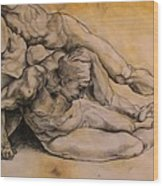 Raphael's Drawing Wood Print