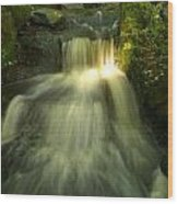 Rapid Waterfall Wood Print