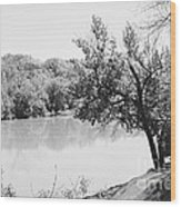 Rappahannock Riverbank I Wood Print