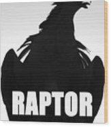 Raptor Spc Work A Wood Print