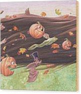 Rapunzel's Halloween Wood Print