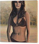 Raquel Welch 2 Wood Print