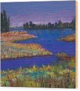 Raquette Lake Wood Print