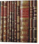Rare Books Wood Print