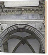 Rathaus Arch Wood Print