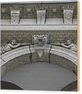Rathaus Cherubs Wood Print