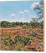 Rattle Rock Road Wood Print