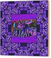 Rattlesnake Abstract Window 20130204m133 Wood Print