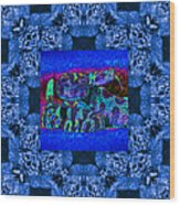 Rattlesnake Abstract Window 20130204m180 Wood Print