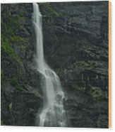 Rauma County Waterfall Wood Print