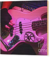 Raunchy Guitar Wood Print by Bob Christopher
