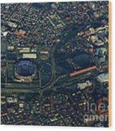 Ravens Stadium And Camden Yards Wood Print