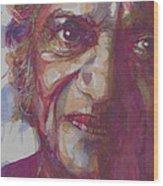 Ravi Shankar- Rabinda Shankar Chowdhury Wood Print