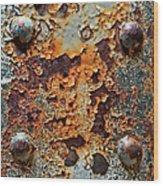Raw-extract Wood Print