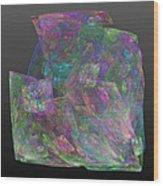 Raw Opal Wood Print