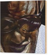 Ray Charles-beyond Sight 2 Wood Print