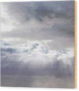 Ray From Heaven Wood Print by Rhonda Humphreys