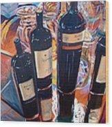 Raymond Vineyards Crystal Cellar Wood Print