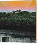 Rays Of Days Wood Print
