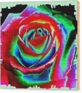 Razzle Dazzle Rose Wood Print