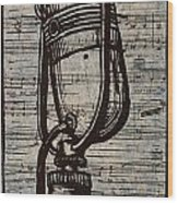 Rca 77 On Music Wood Print