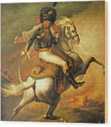 Re Classic Oil Painting General On Canvas#16-2-5-08 Wood Print