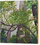 Reach For The Sky Wood Print by Vikki Wicks