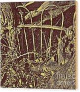 Reaching Impasse Wood Print