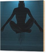 Reaching Nirvana.. Wood Print by Nina Stavlund
