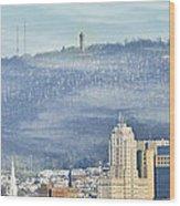 Reading Skyline Wood Print