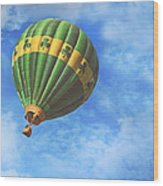 Readington Balloon Fest Media Launch 30 Wood Print