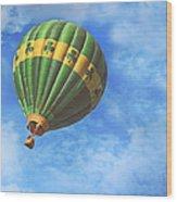 Readington Balloon Fest Media Launch 30 Wood Print by Pat Abbott