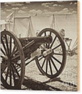 Ready For Battle At Gettysburg Wood Print