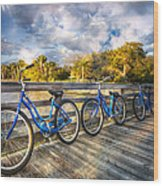 Ready To Ride Wood Print
