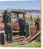 Ready To Roll Wood Print