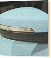 Rear View Mirror Wood Print