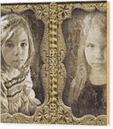 Rebecca And Sara Wood Print