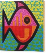Rebel Fish  II Wood Print