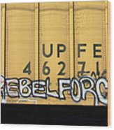 Rebel Force Wood Print