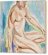 Rebirth Of Apollo Wood Print