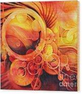 Rebirth - Phoenix Wood Print