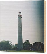 Recesky - Cape May Point Lighthouse 3 Wood Print