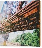 Recesky - Whitford Railroad Bridge Wood Print