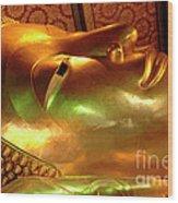 Reclining Buddha 1 Wood Print