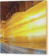 Reclining Buddha, Wat Pho Wood Print