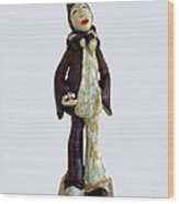 Recognizing The Meaning... Wood Print by Agnieszka Parys-Kozak