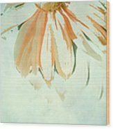 Reconstructed Flower No.1 Wood Print